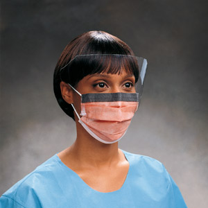 FluidProtect Procedure Face Mask & Anti-Fog Visor | Medical Supermarket