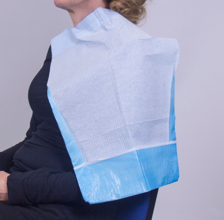Disposable Capes For Ear Syringe With Pocket & Ties | Medical Supermarket