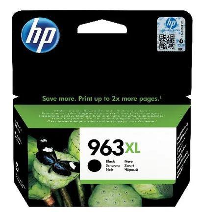 HP 963XL Ink Cartridge, Black   Medical Supermarket