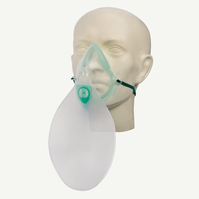 Eco High Concentration Oxygen Mask With Tube Adult | Medical Supermarket
