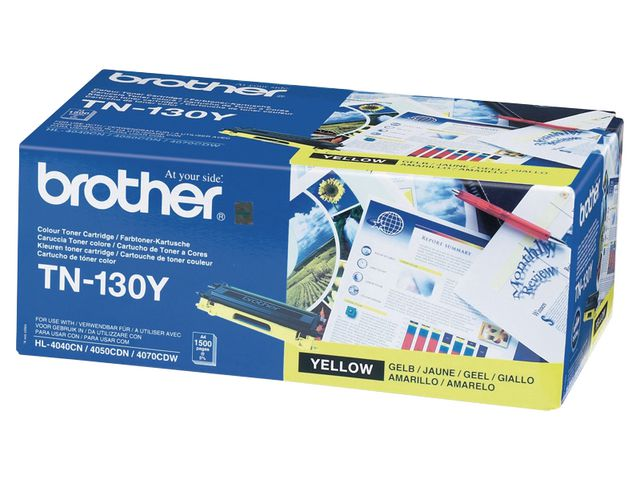 Brother TN130 Toner Yellow | Medical Supermarket
