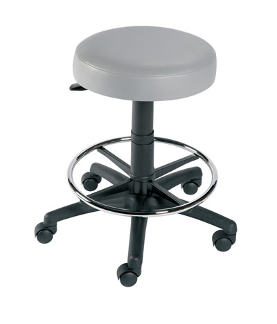 Gas Lift Stool with Foot Ring | Medical Supermarket