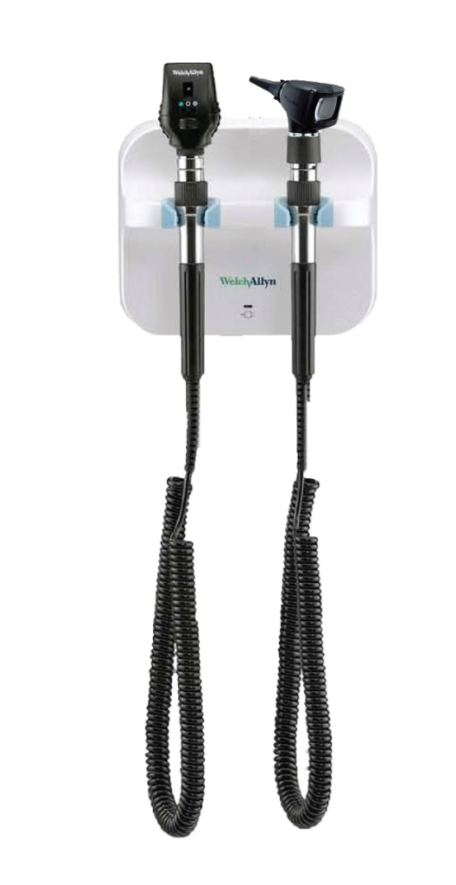 Welch Allyn GS 777 Elite Wall Unit - Coaxial Ophthalmoscope & Otoscope | Medical Supermarket