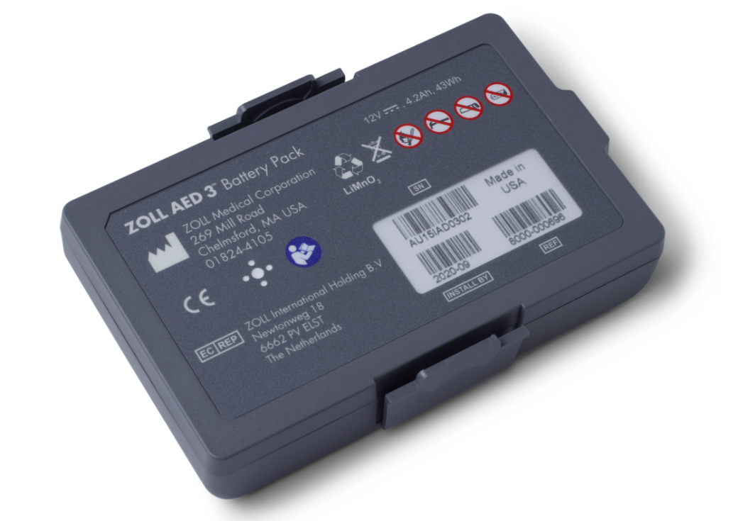 Zoll AED 3 Battery Pack   Medical Supermarket
