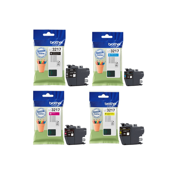 Brother LC3217 Inkjet Cartridge Black | Medical Supermarket