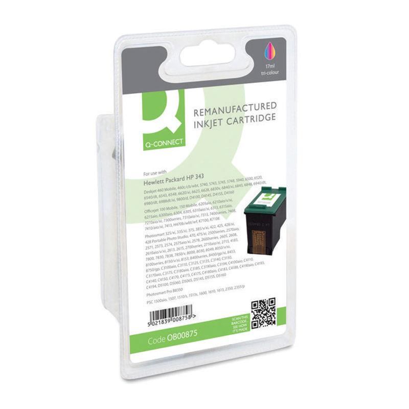 Compatible HP No.343 Tri-Colour Ink Cartridge | Medical Supermarket