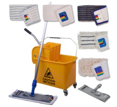 Microspeedy Microfibre Scrub Mop | Medical Supermarket