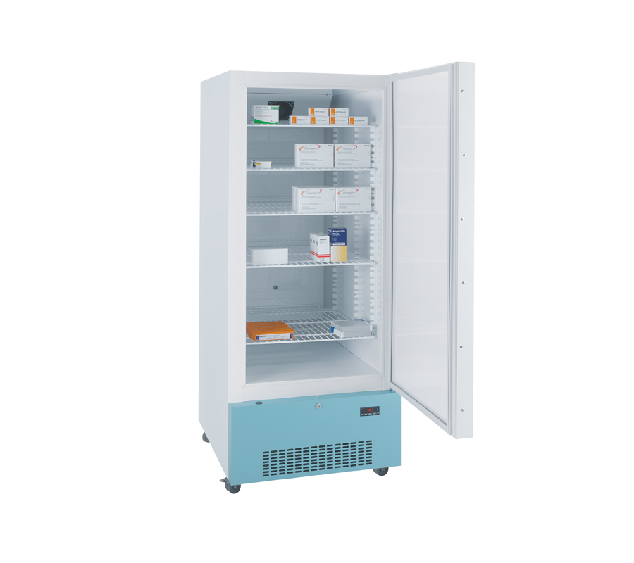 Lec PE1607C Pharmacy Refrigerator with Solid Door (444 Litres)   Medical Supermarket