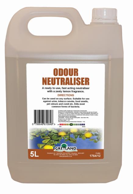 Odour Neutraliser 5 litre -Pack of 1   Medical Supermarket