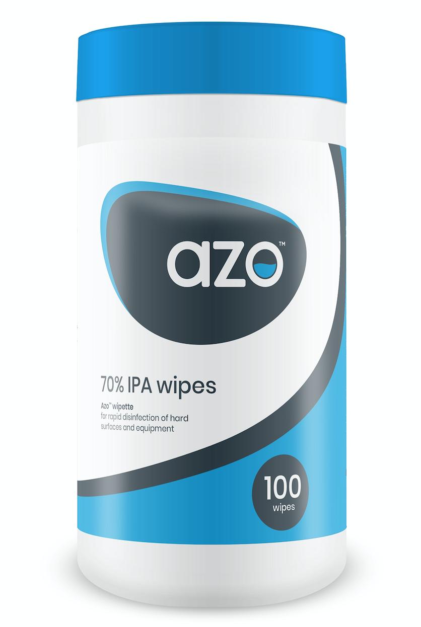 Azo Wipes Wipettes (Tub of 100) | Medical Supermarket