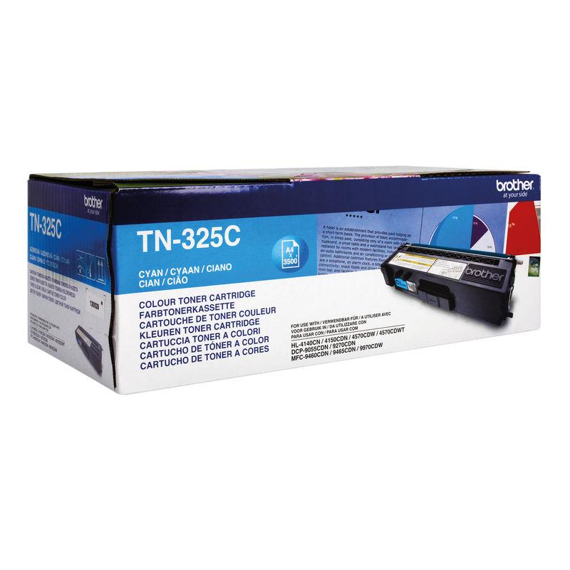 Brother TN325 High Capacity Toner Cyan | Medical Supermarket