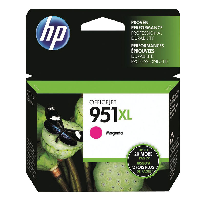 HP No.951XL High Capacity Ink Cartridge Magenta | Medical Supermarket