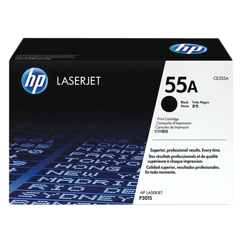 HP No.55A Black Toner | Medical Supermarket
