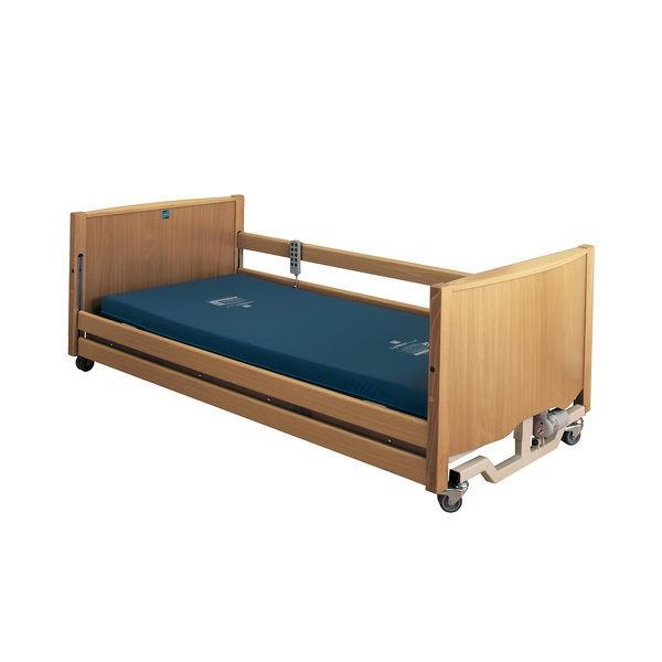 Bradshaw Low Nursing Care Bed Light Oak | Medical Supermarket