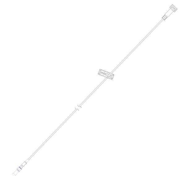 Microbore Extension Set, 76cm/1.2ml | Medical Supermarket