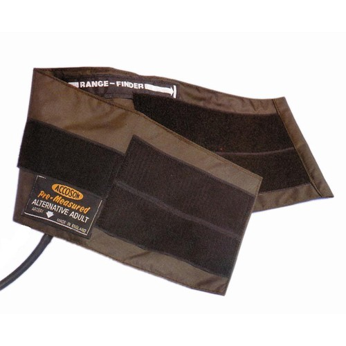 "Accoson Blood Pressure Velcro Cuff Single Tube Adult 9"" x 5"" | Medical Supermarket"