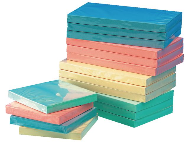Pastel Sticky Notes 75 x 75mm | Medical Supermarket