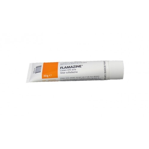(POM) Flamazine Cream 1% 50G (Silver Sulphadiazine 1%) | Medical Supermarket