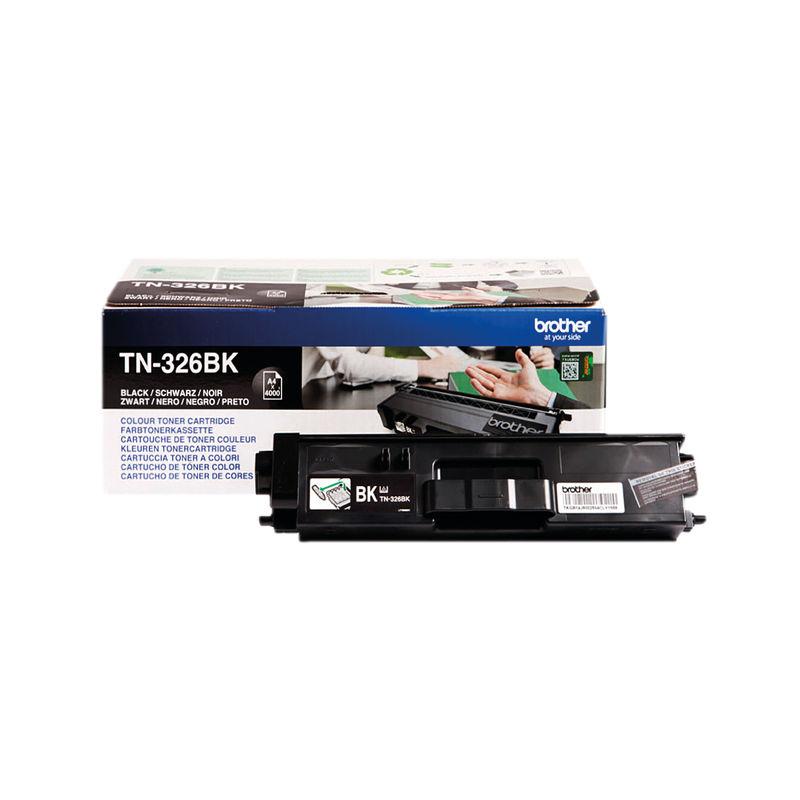 Brother TN326 High Capacity Toner Cartridge Black | Medical Supermarket