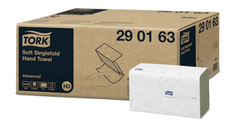 Tork Advanced Singlefold Hand Towel | Medical Supermarket