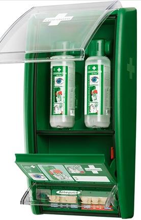 Cederroth Eye Wash Station, 2x500ml Bottles | Medical Supermarket