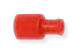 Red Dual End Male to Female Luer-Lock Stopper | Medical Supermarket