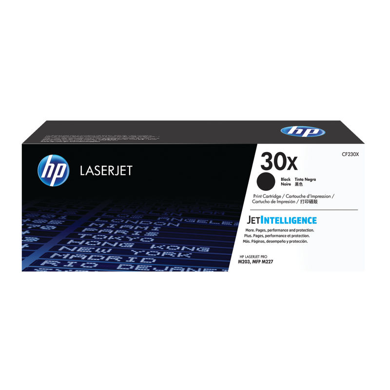 HP No.30X High Capacity Black Toner | Medical Supermarket