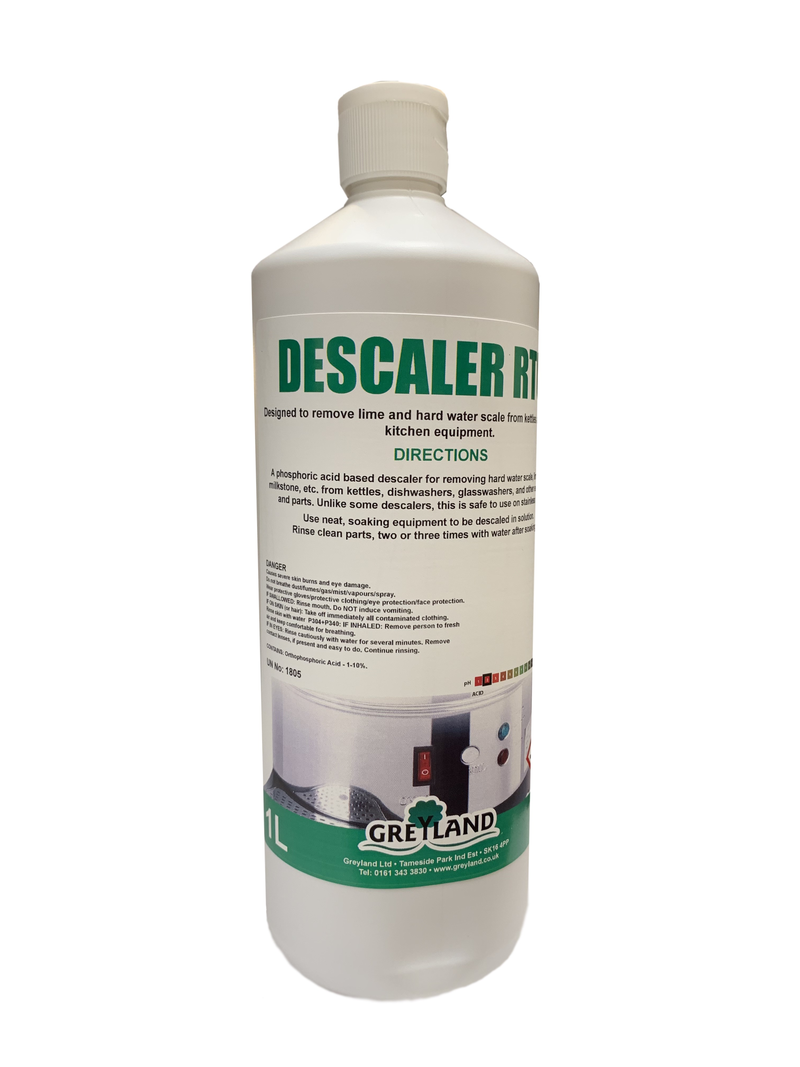 Descaling Liquid Ready to Use 1 Litre Pack of 1 | Medical Supermarket