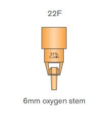 Oxygen Venturi Valve 24% - Blue | Medical Supermarket