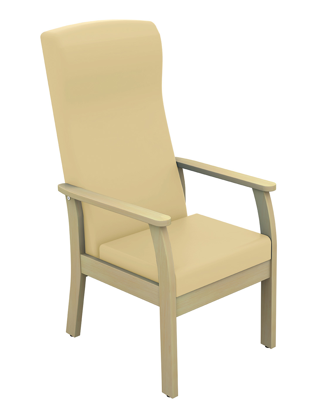 High Back Patient Arm Chair Vinyl Fabric | Medical Supermarket