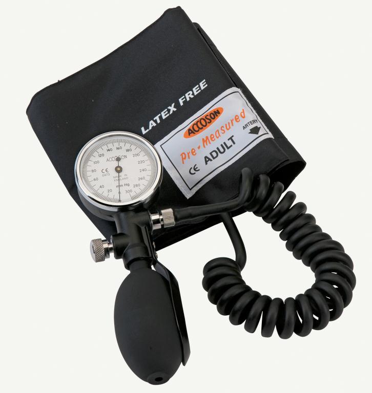 Accoson Duplex Blood Pressure Monitor Black | Medical Supermarket