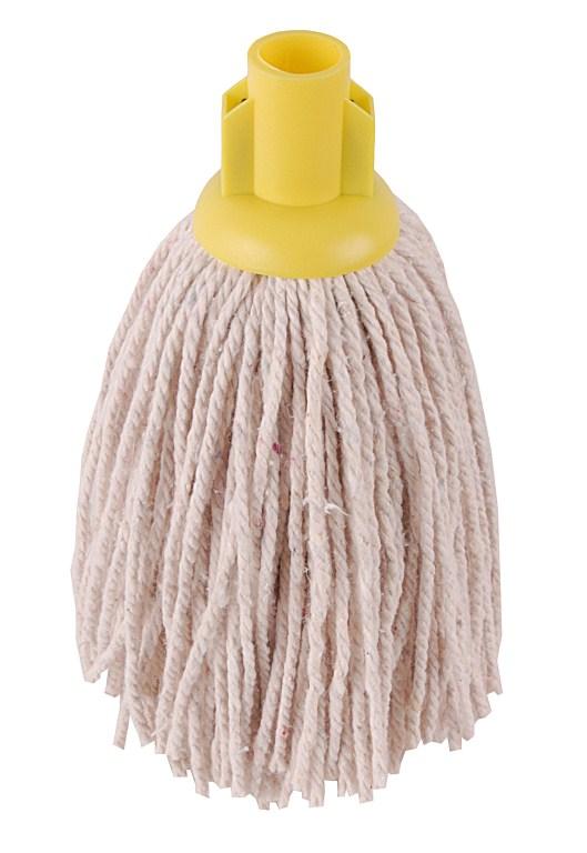 Hygiene Py Yarn Mop Size 12 Yellow   Medical Supermarket