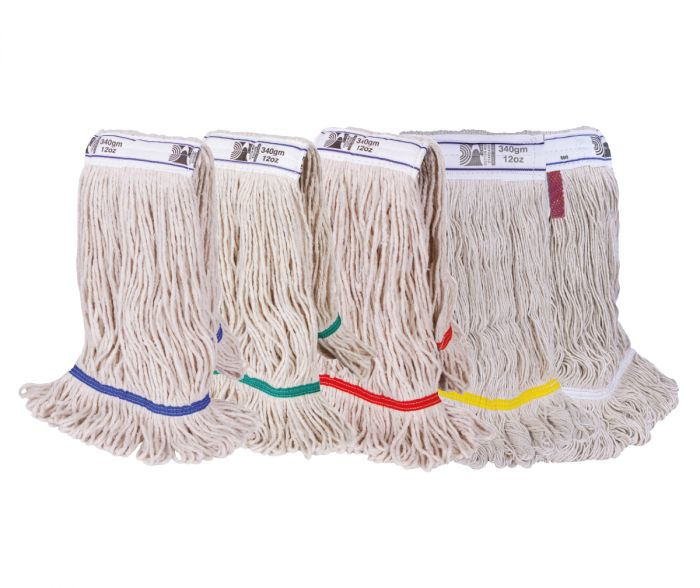 Multifold Kentucky Mop Head Red Band | Medical Supermarket