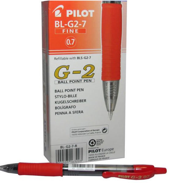 Retractable Gel Ink Pen Red | Medical Supermarket
