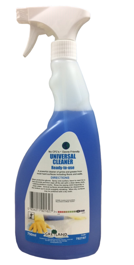Universal Cleaner Ready to Use 750ml | Medical Supermarket