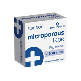 Microporous Tape 2.5cm x 10m | Medical Supermarket