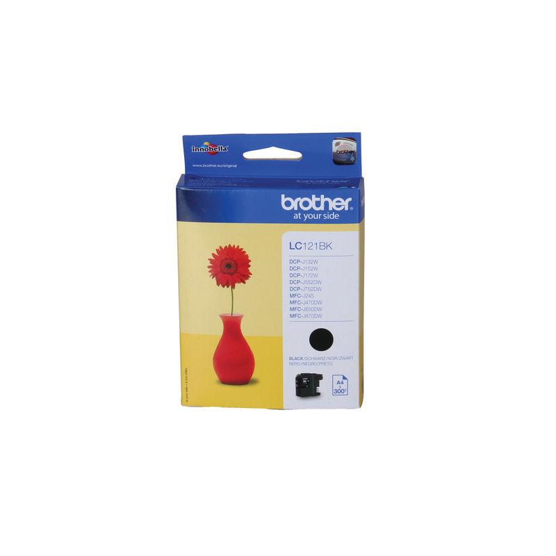 Brother LC121 Ink Cartridge Black | Medical Supermarket
