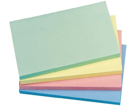 Pastel Sticky Notes, 76 x 127mm   Medical Supermarket