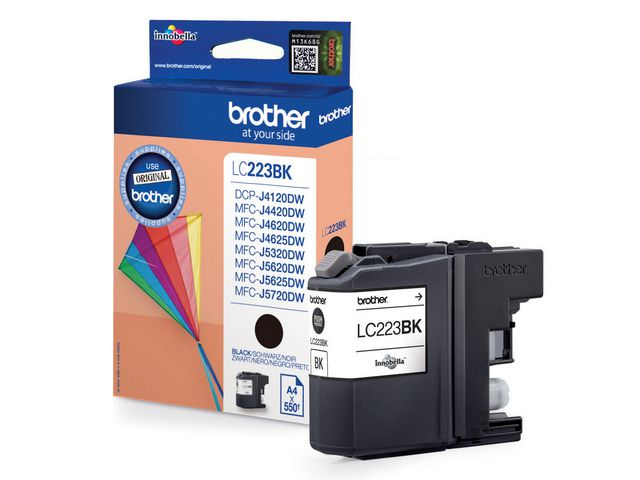 Brother LC223 Ink Cartridge Black | Medical Supermarket