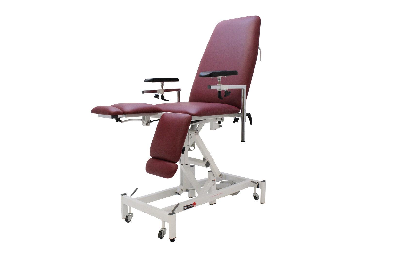 Medi-Plinth Phlebotomy Chair Hydraulic | Medical Supermarket