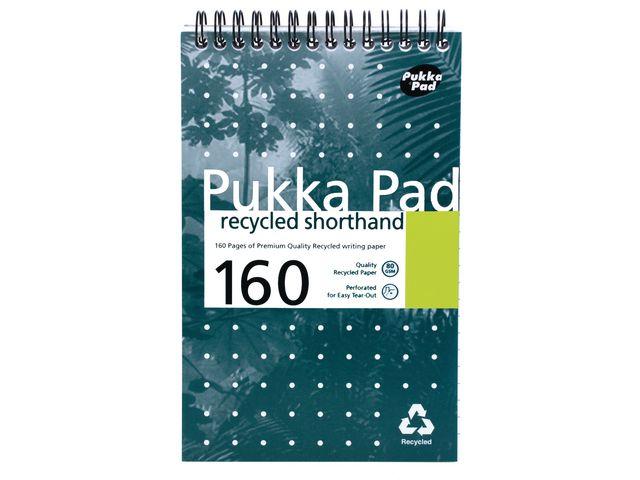 Pukka Recycled Notebook (125 x 200mm) | Medical Supermarket