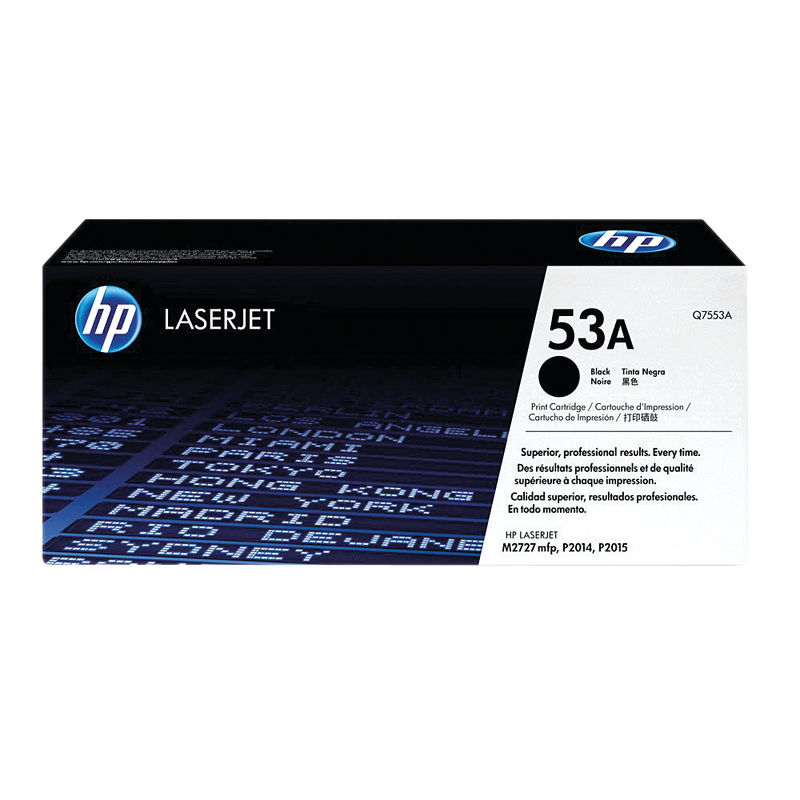 HP No.53A Black Toner | Medical Supermarket