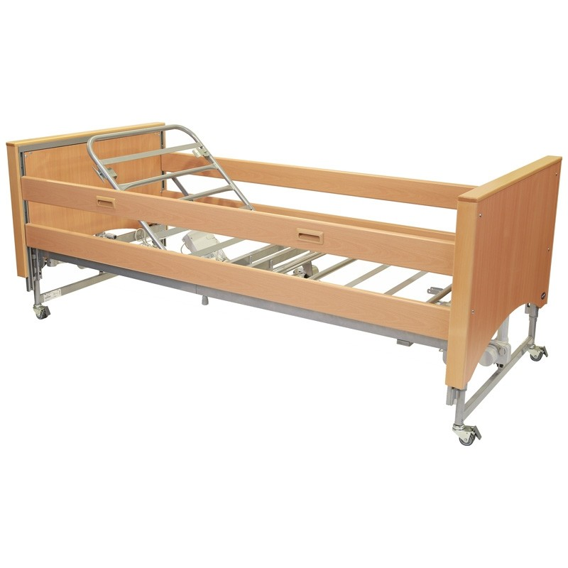 Invacare Medley Ergo Low Profiling Bed With Select Ends & Side Rails (Flat Pack) | Medical Supermarket