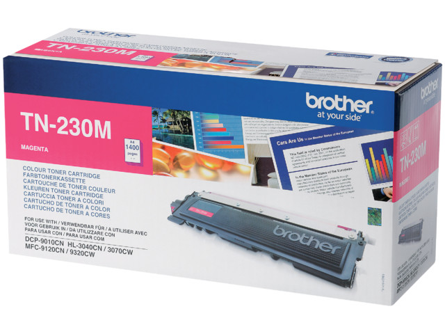 Brother TN230 Toner Magenta | Medical Supermarket
