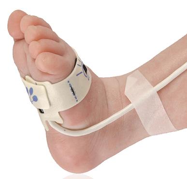 Nonin Pulse Oximeter Nonin Reusable Flex Sensor, Infant (1m Cable) | Medical Supermarket