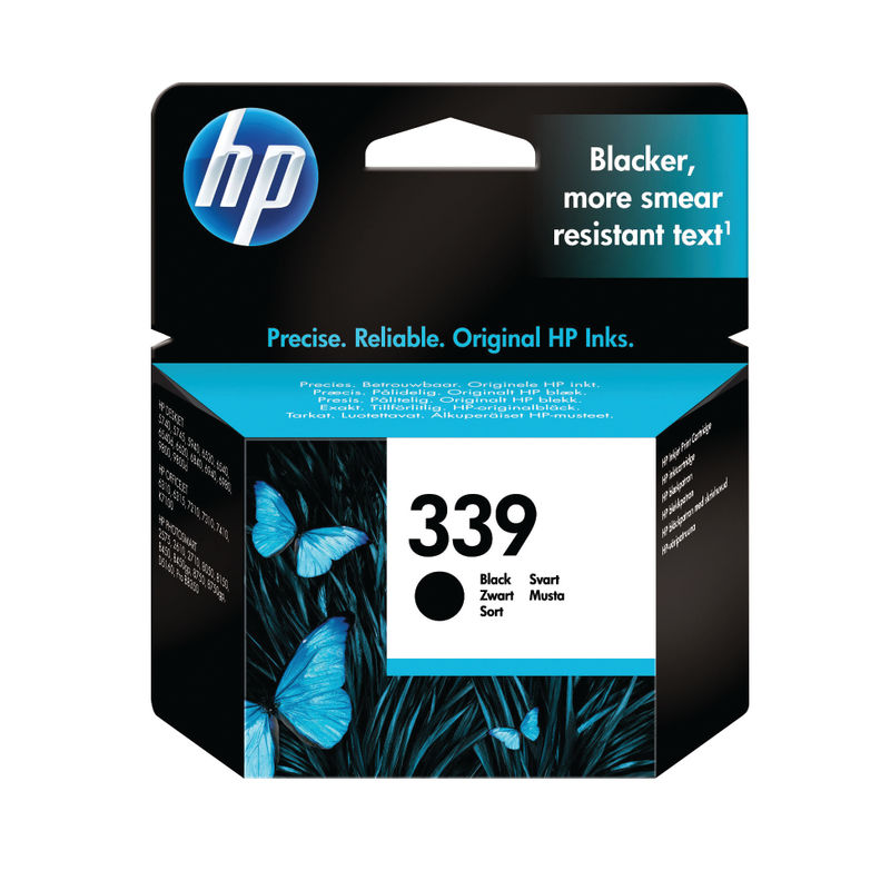 HP No.339 High Capacity Black Ink Cartridge | Medical Supermarket