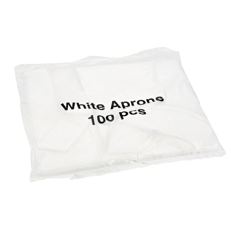 Aprons in a Dispenser Pack White | Medical Supermarket