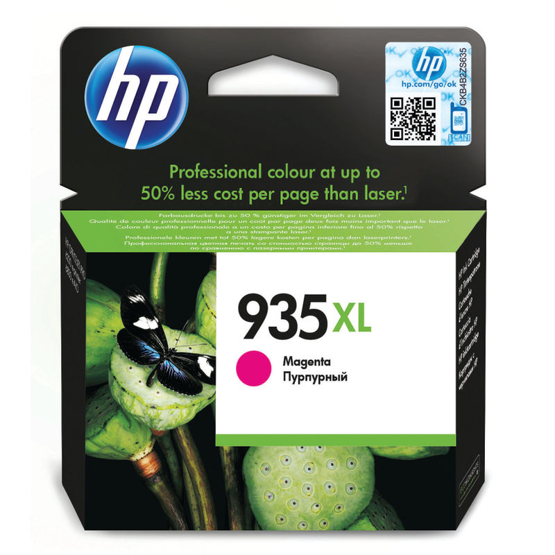 HP No.934XL High Capacity Magenta Ink Cartridge | Medical Supermarket