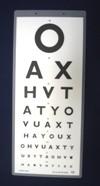 Snellen 6M Vision Test for New DVLA Standards (Laminated) | Medical Supermarket