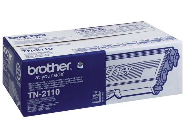 Brother TN2110 Black Toner | Medical Supermarket